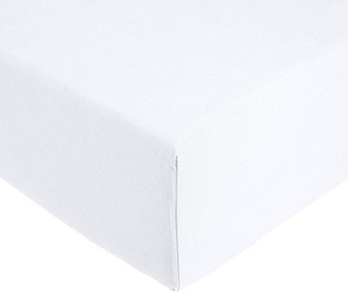 Amazon Basics AB 200TC Cotton-Light, 100% Cotone, Bianco, 200 x 200 x 30 cm