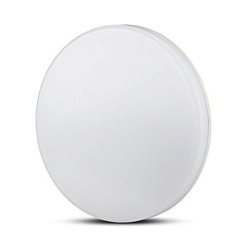 Plafón LED V-TAC SMD 25W trimless techo circular 2.000lm 110° IP44a + vt-8066–SKU 1393blanco natural 4000K
