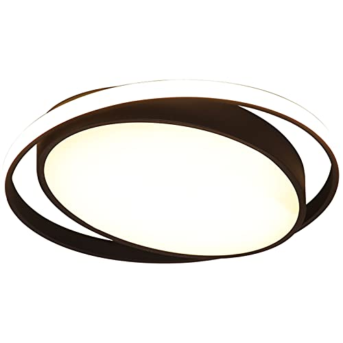 WYYUE Lámpara de Techo LED acrílico con Control Remoto, 41W Lámpara de Techo Regulable RGB 3000K-6000K Iluminación de Techo para Sala de Estar, Dormitorio, Comedor, Cocina