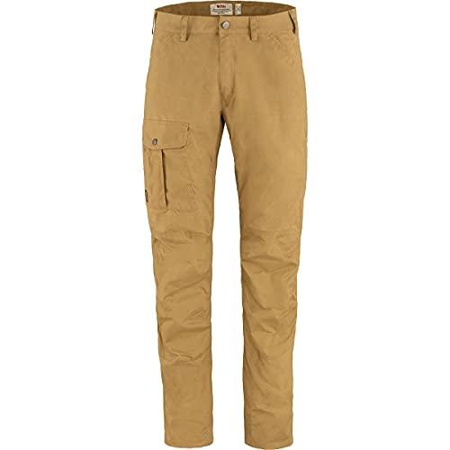 Fjallraven Nils Trousers M Pants, Buckwheat Brown, 48 Mens