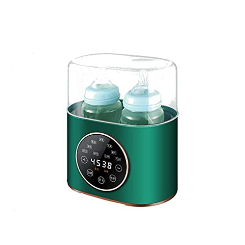 Botella de leche de dos en uno que esteriliza el calentador, el artefacto de ordeño de temperatura constante, que coincide de manera inteligente el tiempo de calentamiento y el material de la botella