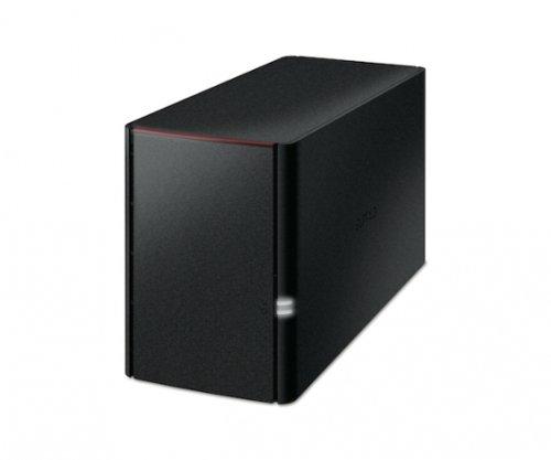 Buffalo LinkStation 220, 2TB - Unidad Raid (2TB, Unidad de Disco Duro, 2000 GB, Unidad de Disco Duro, Marvell, Armada 370, 0,8 GHz) Negro