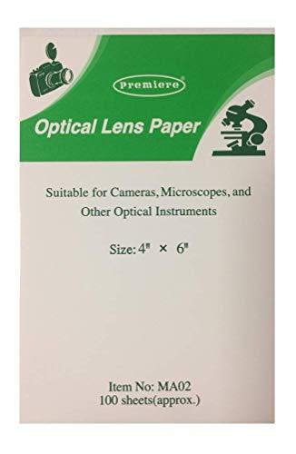 Optical Lens Paper, 4' x 6', 100 Sheets
