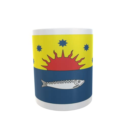U24 Tasse Kaffeebecher Mug Cup Flagge Sylt Ost