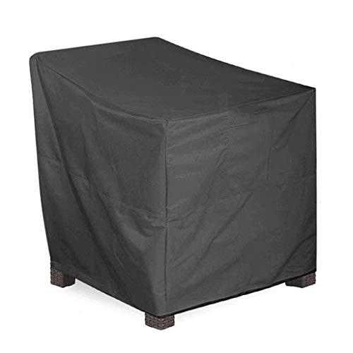 COUYY 210d Oxford Paño al Aire Libre jardín al Aire Libre Impermeable y Silla a Prueba de UV Cubierta de Polvo de Muebles de Exterior Cubierta de Silla Cubierta Protectora,120 * 65 * 65 * 80cm
