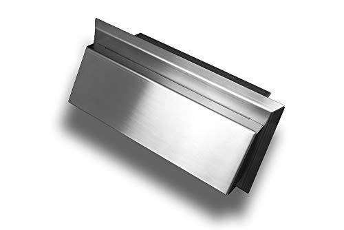 Flachkanal Lüftungshaube Lüftungsgitter Wandauslass Edelstahl flach Abluft Zuluft Lüftung System: 150 (90x220) System 150 (90x220)