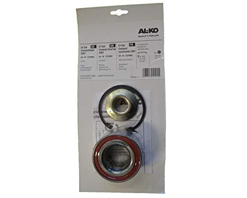 FKAnhängerteile 1 x ALKO - Radlager 1224805 Lager 80/42x42 mm + Radmutter + Sicherung