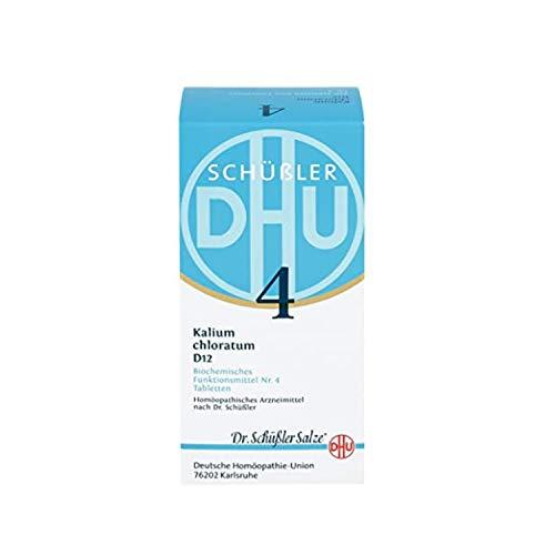 DHU Schüßler-Salz Nr. 4 Kalium chloratum D12 Tabletten, 80 St. Tabletten