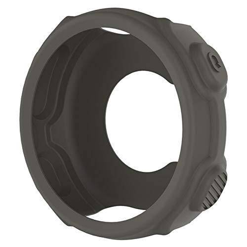 YUANYUAN520 Housse De Protection en Silicone for Garmin Chronographes De Haute Qualité Souple Replacment Wristband Cas for Garmin Forerunner 235 / 735XT Montre GPS Comfortable (Color : Gray)