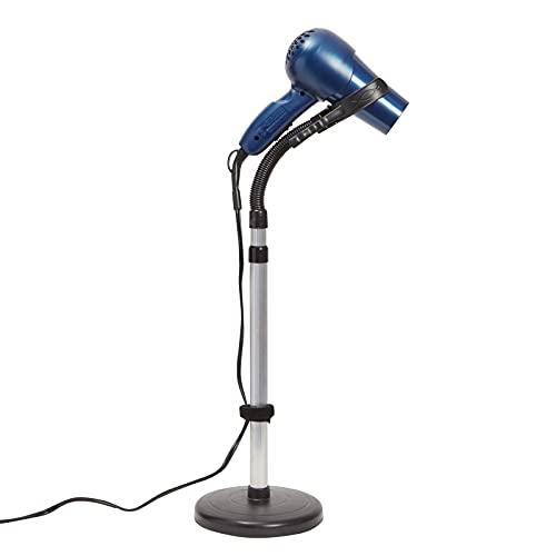 Adjustable Hair Dryer Holder Stand, Hands Free 360 Degree Rotation