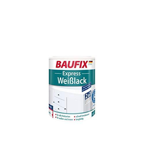 BAUFIX  Express Weißlack Rein-Acryl Seidenmatt