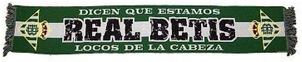 Desconocido Bufanda Real Betis Balompié Dicen Que Estamos Locos DE LA Cabeza