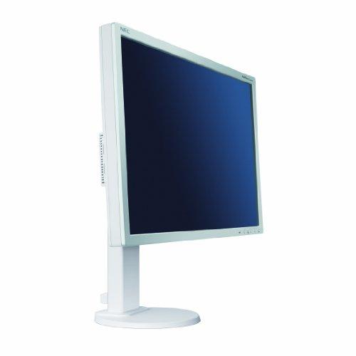 NEC MultiSync E201W - Monitor LCD con retroiluminación LED, 20 Pulgadas(16: 9, 250 CD/m, 1000: 1, 1600 x 900, 5 ms) - Blanco