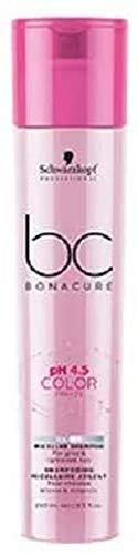 Schwarzkopf BC Bonacure pH 4.5, Champú Gel Micelar Color Plata, 250 ml