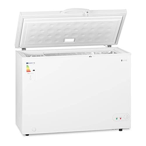 Royal Catering Arcón Congelador Cámara Profesional RCFZ-252-1 (Capacidad: 252 L, Clase energética: A +, Temperatura de -12 a -28 °C)