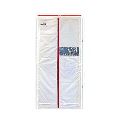 ZipWall Steel Frame Magnetic Door Kit for Dust Barriers, M3070