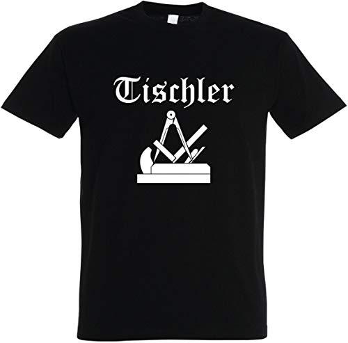 Herren T-Shirt Tischler Zunftwappen 2