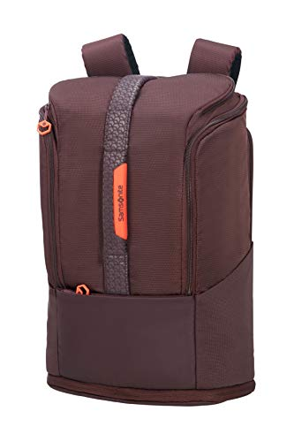 Samsonite Hexa-Packs - Laptop Backpack Medium Expandable - Sport Rucksack, 49 cm, 26 Liter, Aubergine