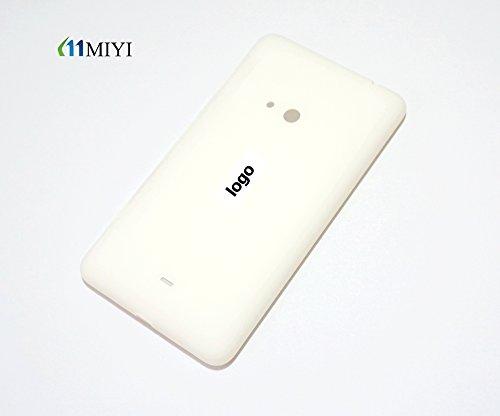 MIYI Nuovo Original copribatteria (batteria vano coperchio, batteria copertura, retro, Back-Cover) per Nokia Lumia 625 - Bianco