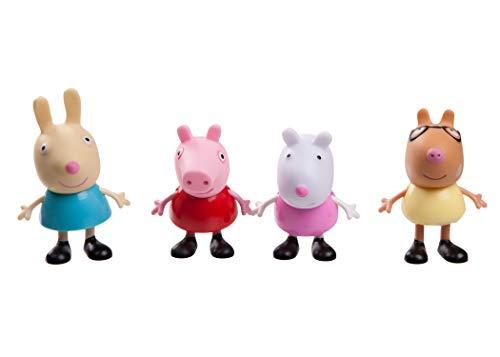 Peppa Pig 92612Peppa 4Parte Figura Pack peppas Amigos
