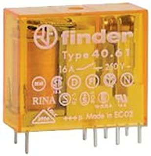 FINDER 40.61.8.240.0000 POWER RELAY, MINIATURE, SPDT-CO, 240VAC, PCB