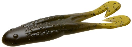 Zoom 083025 Horny Toad Topwater Toad, 4 1/4-Inch, 5-Pack, Green Pum-Packin
