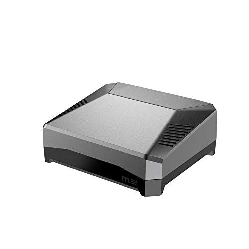 Argon ONE M.2 - Custodia per Raspberry Pi 4 (solo custodia Argon M.2) | Supporto SSD SATA | Compatibile con B-Key e B+M Key