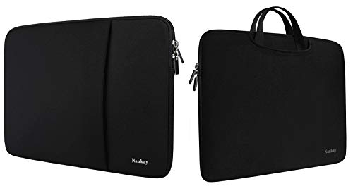 13 inch Laptop Sleeve Bag,Briefcase Cover Protective Case Compatible with 13-13.3 Inch,15.6 Inch, Durable Slim Briefcase Handle Bag
