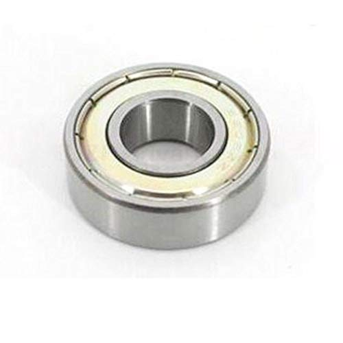 YC 2/4pcs Deep Groove Ball Bearings, Steel Bearing 6000-6005 ZZ RS for 3D Printing and Skateboards Scooters (Color : 6000zz, Size : 2PCS)