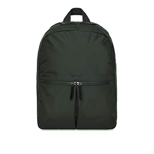 KNOMO London Berlin Dalston Mochila 14, Botella Verde