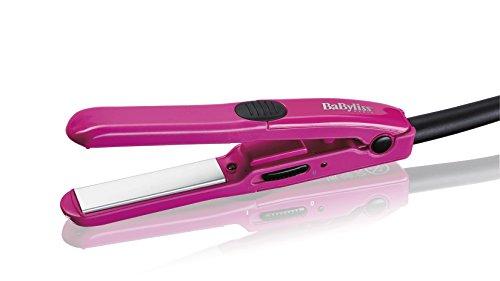 BaByliss H100E Mini Piastra Lisciante Rosa
