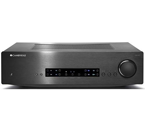 Cambridge Audio CX A80 - Amplificador de audio (120 W, A/B, 120 W, 3,5 mm, 750 W, 0,5 W)