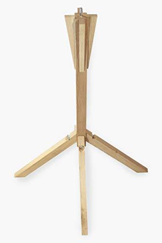 NEST TO NEST Vogelhaus-Ständer, aus Eichen Holz I Premium Qualität