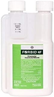 Forbid 4f Ornamental Insecticide Miticide Spiromesifen Whiteflies Spider Mites Not for Sale To; California