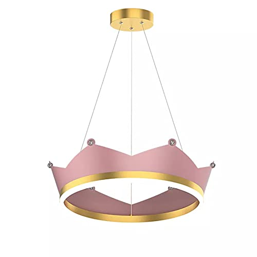 Lámpara Colgante LED Moderna Lampara Araña Cuerpo De Lámpara De Hierro Altura Ajustable Iluminación Colgante De Techo Pantalla De Acrílico Luces Colgantes para Isla De Cocina 31W Regulable