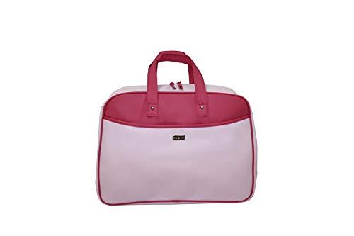 Handtas koffer Moederschap Baby Star roze/fuchsia