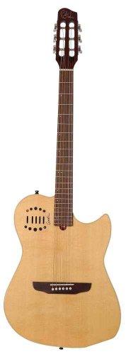 GODIN MULTIAC DUET AMBIANCE NATURAL - GIG BAG Elektroakustische Gitarren Folk Elektro-Akustik