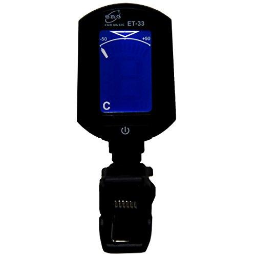ET-33 - Afinador cromático digital con pinza