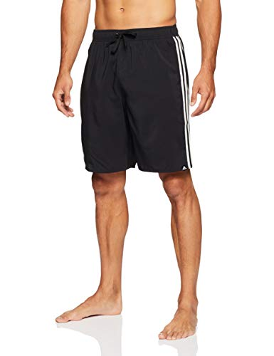 adidas Herren 3S SH CL Swimsuit, Black, L