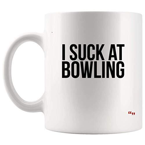 Funny Jokes Cup - Amico Compleanno Tazza da caffè Succhiare Bowling Divertente Bowling Outfit Sarcasmo Regalo Uomo Donna