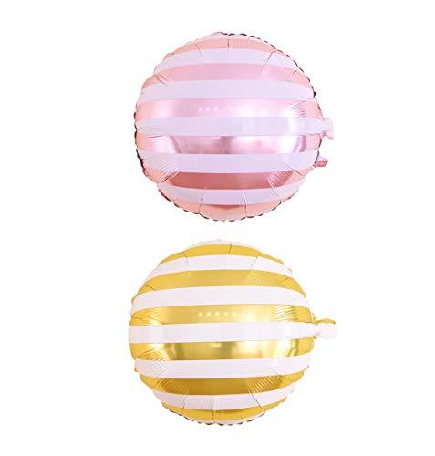N / A 2 Stück Partei Ballons, Donuts Kegel Zuckermelone Hamburg Partydekorationen Parteien Liefern Luftballons Multicolor Feiertagsdekoration Bogen Dekor Ballone für Hochzeit Geburtstag