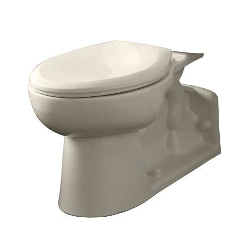 American Standard 3701.001.222 Yorkville Elongated Pressure Assisted Two Piece Toilet, Linen