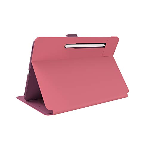 Speck Products Balance Folio Samsung Galaxy Tab S7 Case, Royal Pink/Lush Burgundy