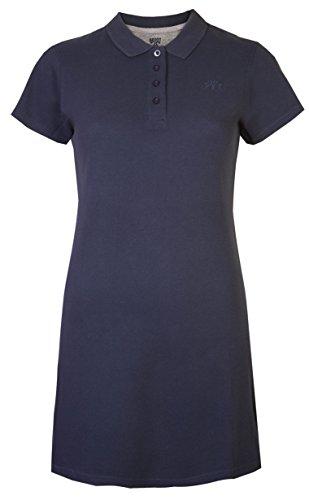 Vestido tipo tenis o Polo Piqué para mujer, vestido de mang