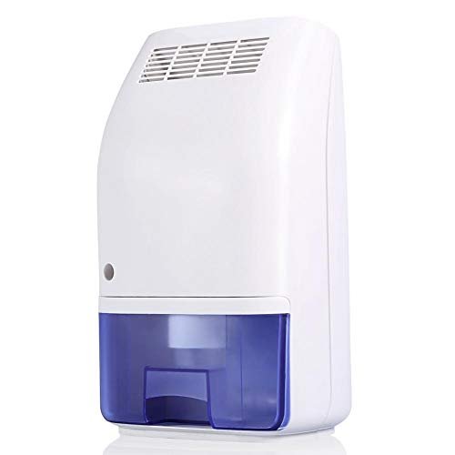 GOTOTOP Air Dehumidifier Electric Mini Dehumidifier for rooms 100 to 160 sq ft Compact and Portable for High Humidity in Home Kitchen Bedroom Bathroom Basement Caravan Office, Garage