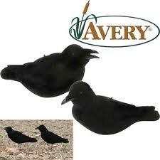 Avery Greenhead Gear GHG, FFD Elite Crow Raven Decoys - 2 Pack