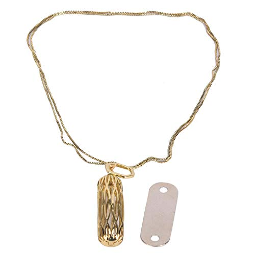 Necklace Pendant for Necklace for 2 Corrosion Resistance Material Stainless Steel(Golden)
