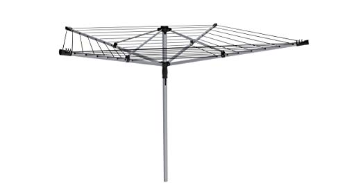 Premium quality 40 metre Rotary Washing line with FREE Ground Spike and Cover