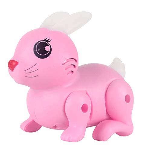 VILLCASE Juguete Electrónico Interactivo del Conejo de La Mascota para Los Niños Niñas Robot de Control Remoto Juguetes Robot Inteligente RC con Luz LED sin Batería