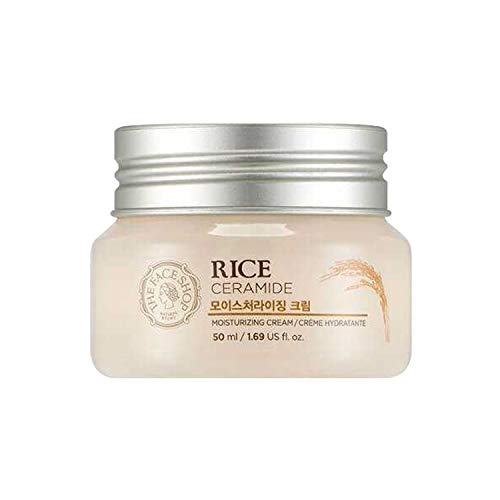 Rice & Ceramide Moisture Cream the Face Shop 45ml All Skin Types hong kong in stock